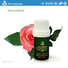 Aromacare al por mayor de aceite esencial de rosa 100% puro