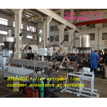caco3 masterbatch plastic ball pellet making machine