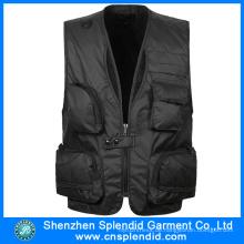 China Garment Wholeale Mens Jagdweste mit hoher Qualität