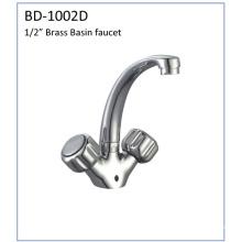 Bd1002D Double Knins Brass Kitchen Faucet