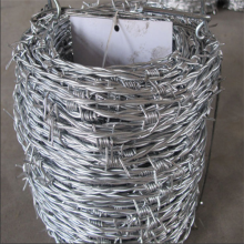 Galvanized or PVC Barbed Iron Wire