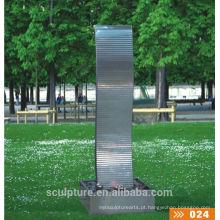 Escultura da fonte da bolha