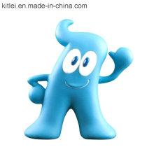PVC vinilo juguetes de plástico lindo Haibao estilo juguetes
