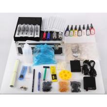 Professionelle billige Tattoo Kits 2 Pistolen Rotary Tattoo Maschine Kits