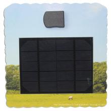 Panneau de charge solaire de carte portable de carte publicitaire pour téléphone portable