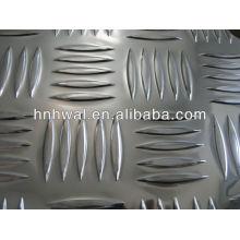 Feuille en aluminium gaufré en stuc de haute qualité