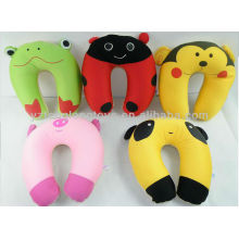 Lovely animal micro beads spandex neck cushion for sale