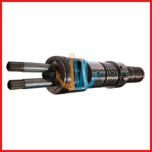 55/110 Doppelschneckenextruder konischer Schneckenzylinder