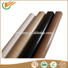 High temperature PTFE Coated Fiberglass Fabric With Silicone Adhesive