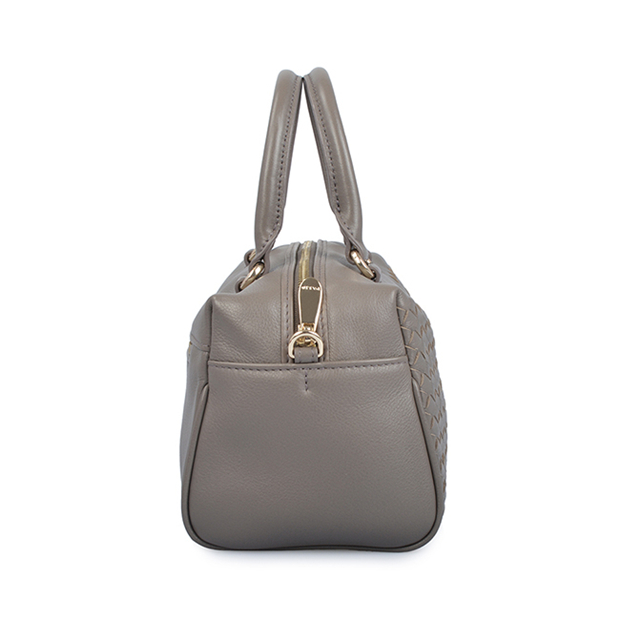 New Fashion Weave Lady Leather Handbag