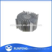 Точность алюминиевого литья светодиодные лампы радиатор части