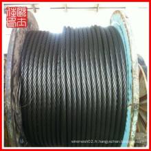 Vente en gros de câbles en acier 3x7 (fabrication)