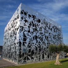 Decorative Aluminum Facade Cladding Panels