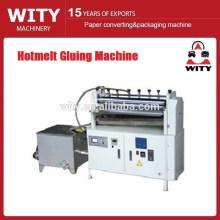 Machine de collage à vitesse réglable à chaud
