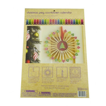 kids funny christmas crafts,wholesale handmade christmas crafts,christmas countdown peg
