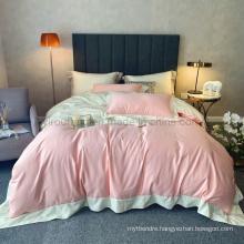 Wholesale Sheraton Hotel Linen 3PCS Twin Comforter Set 100% Cotton