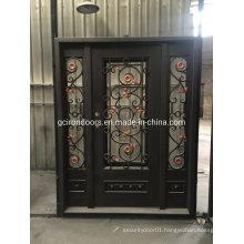 Classic Design Steel Doors with Sidelight
