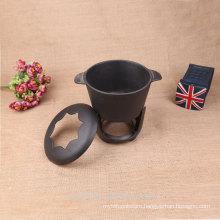 camping alcohol pot small cast iron pot