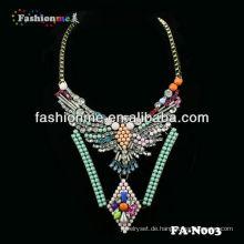 FH-N003 Fashion Luxus Shourouk Stil Halskette Schmuck