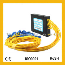 Competitive 1X16 Single-Mode ABS Box Fiber Optic PLC Splitter