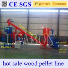 Ahorro de mano de obra Good Feedback Complete Small Wood Pellet Plant for 6mm Pellets