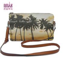 Coconut Tree Print Clutch Bag Cross Handbags Nmdk-F26