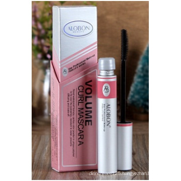 Makeup Mascara Thick Coils, Waterproof Not Dizzy Silicone Brush Head Mascara