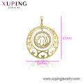 33747 Xuping muçulmano jóias 14k banhado a ouro Allah pingente de design