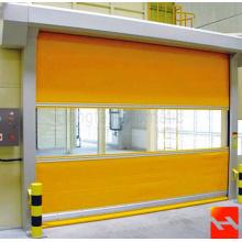 Porte de volet de rouleau rapide de rideau en PVC