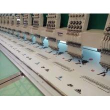Máquina de bordado plana de 9 cabeças de 9 cores
