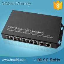 Fibra de áudio digital de vídeo multiplexador óptico 2/4/8/16/24/32 porta fxo fxs gateway de telefone transmissor óptico