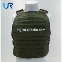 Chaleco antibalas militar de 9 mm o .44 chaleco antibalas armadura ligera