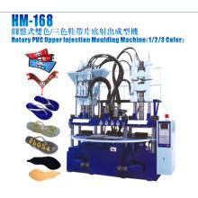 Rotary PVC Máquina de moldeo por inyección superior (1/2/3 color)