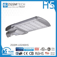 Barato 240W LED luz de calle con Philips Lumiled Chips