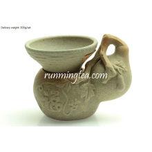 Jingde Town Porcelain Gourd Shape Tea Strainer