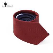 Laço impresso poliéster personalizado dos homens 100% da gravata da promoção