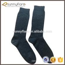 Vente en gros en vrac 100% Pure Cashmere hiver simple chaussettes hommes et femmes