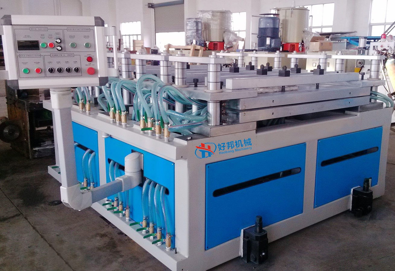 PVC foam board calibration machine