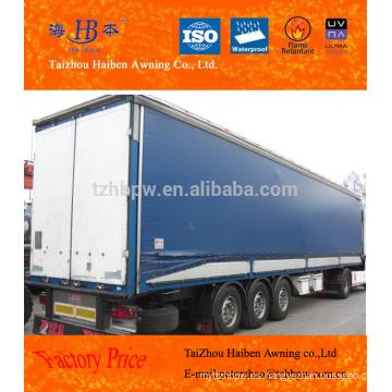 Lona de PVC de alta calidad para la cubierta del camión