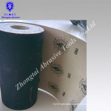 Black abrasive Silicon Carbide sand paper roll
