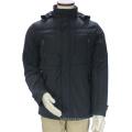 Men Custom Fitness Style Stand Collar Hooded Winter Jacket
