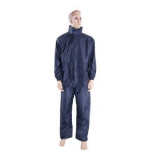 Police Reflective Safety nylon pvc raincoat