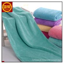 toalha de lã coral multiuso / toalha de microfibra macia