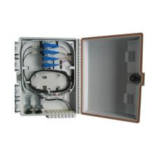 6 portas de fibra óptica FTTH caixa de distribuição de terminais