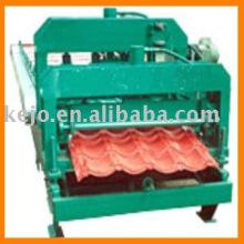 Machine à formage de rouleaux froid pour tuiles en acier coloré