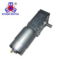CE, motor silencioso 12v 24v del engranaje de gusano de la aprobación de RoHS con reacción baja