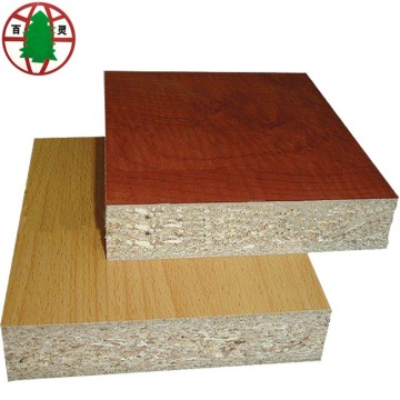 cheap price melamine face particle board/chipboard