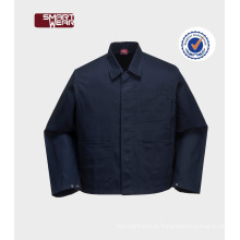 China OEM unisex manga curta Mens workwear camisa uniforme