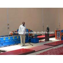 Glasierte Fliesenformmaschine Bedachung