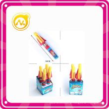 Plastic 30 centímetros Mini Rocket Gun crianças brinquedo esporte